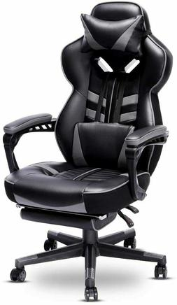 OFFICE GAMING COMPUTER DESK CHAIR RECLINER RACING HIGH-BACK