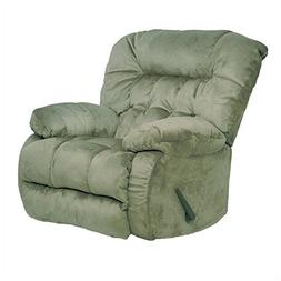 Pemberly Row Oversized Rocker Recliner Chair in Sage