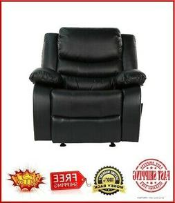 """Overstuffed Rocker Recliner Chair Bayby Glider Chair Thick"