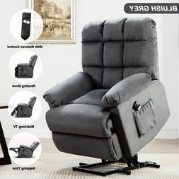 Electric Power Lift Recliner Chair Elderly Armchair Seat Lif