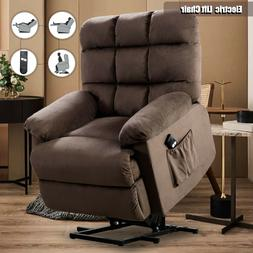 Power Lift Chair Recliner Overstuffed Heavy Duty Reclining A