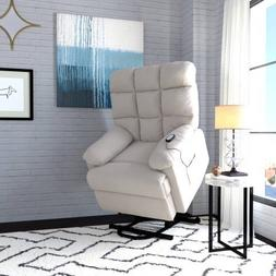 ProLounger Power Recliner and Lift Wall Hugger Chair in Micr