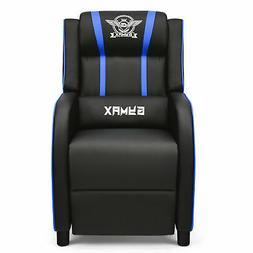 PU Leather Gaming Recliner Chair Single Massage Lounge Sofa