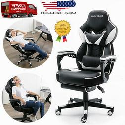 Racing Gaming Chair Ergonomic High Back PU Leather Office Ch