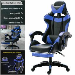 Racing Style Gaming Chair Leather Soft Chair Computer Ergono