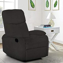 Windaze Recliner Chair High Back Living Room Single Fabric C