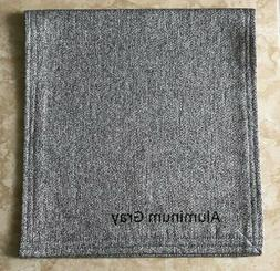 Recliner Chair Head Cover Furniture Protector Aluminum Gray,