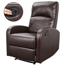 Homall Recliner Chair Padded PU Leather Home Theater Seating