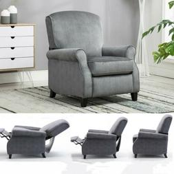 Recliner Chair Single Reclining Sofa Padded Seat Home Theate