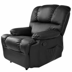 Recliner Massage Sofa Chair Deluxe Ergonomic Lounge Couch He