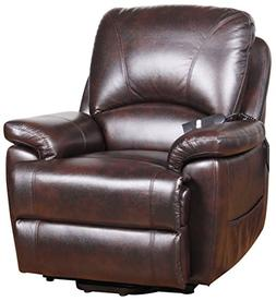 Serta Perfect Lift Chair Recliner-Plush Comfort Recliner wit