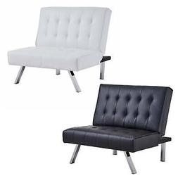 Homegear Split Back PU Leather Accent Chair / Flat Recliner