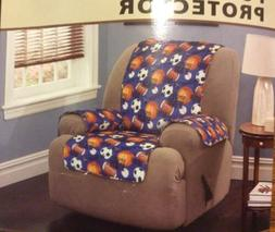 Sports Fan Recliner Wing Chair Furniture Protector 1 Seat Co