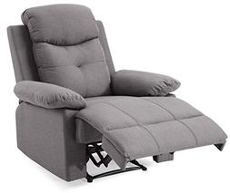 Glory Furniture Stadium G881-RC Recliner, Gray. Living Room