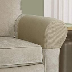 Comfortable Stretch Fabric Furniture Couch Armrest Cover, Se