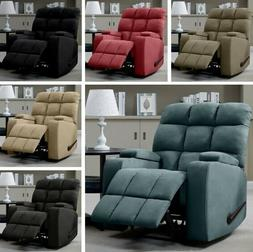 Wall Hugger Recliners Cup Holders Storage Armchairs Lazy Cha