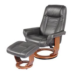 Starline Windsor Soft Touch Synthetic Leather Swivel Chair R