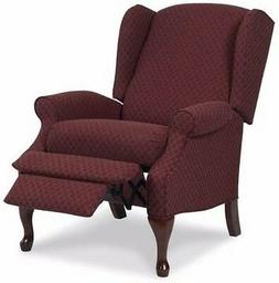 Wingback Red Burgundy Accent Recliner Chairs Armchair Reclin